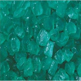 叶绿色玻璃沙